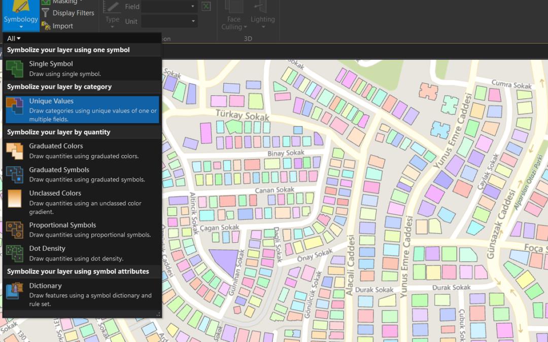 ArcGIS Pro'yla Birlikte Yenilenen ve Geliştirilen Görselleştirme Yeteneklerine Bir Bakış