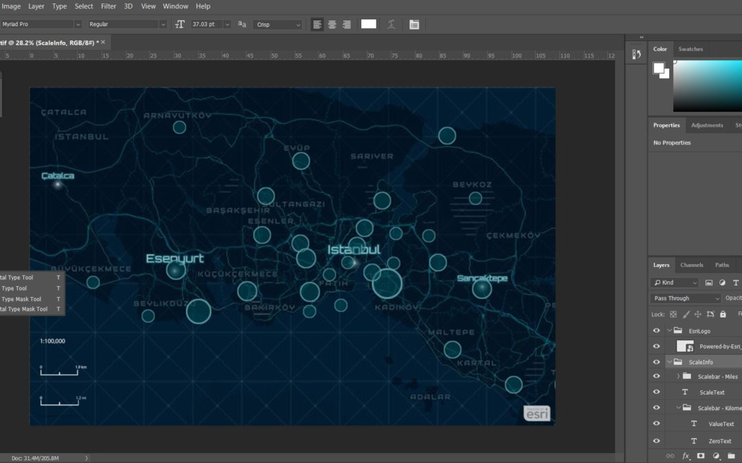 ArcGIS Maps for Adobe Creative Cloud ile Haritanızı Oluşturun