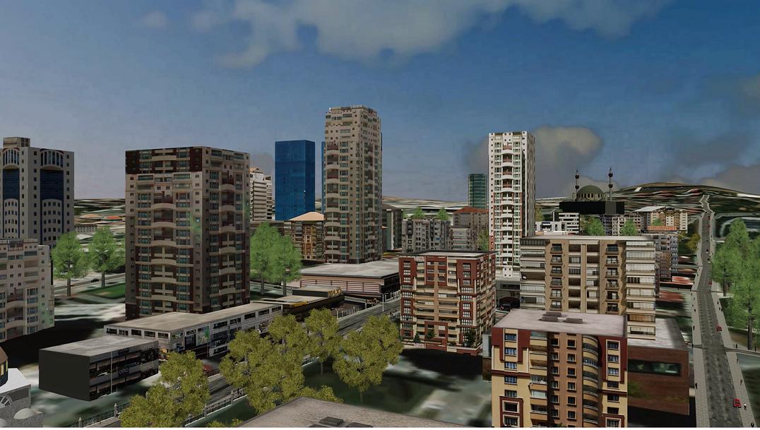 Esri CityEngine ile Üç Boyutlu Bir Kent İnşa Edin – 3. Bölüm (Video Oyunları, Sanal Gerçeklik , Arttırılmış Gerçeklik)