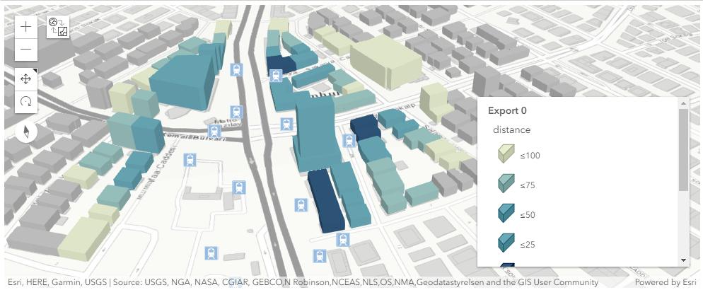 Esri Jupyter Notebook'ta OpenStreetMap Bina Verisi Kullanılarak Basit Analizler Yapımı