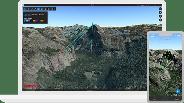 ArcGIS Earth Mobile 1.0 Yayınlandı