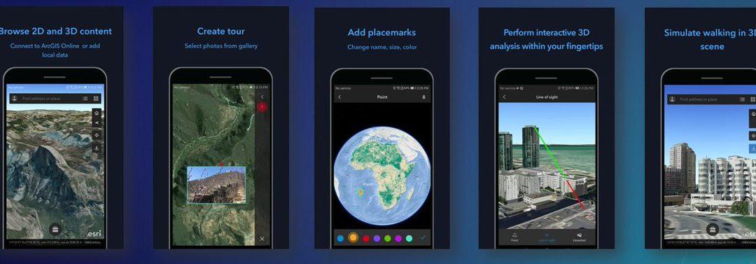 ArcGIS Earth (Android and iOS) Versiyon 1.0.1'deki Yenilikler
