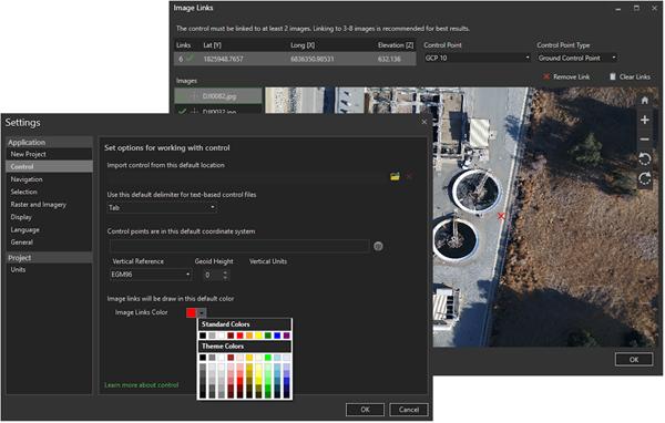 Daha yüksek görünürlük için image links işaretçisinin rengini değiştirin.