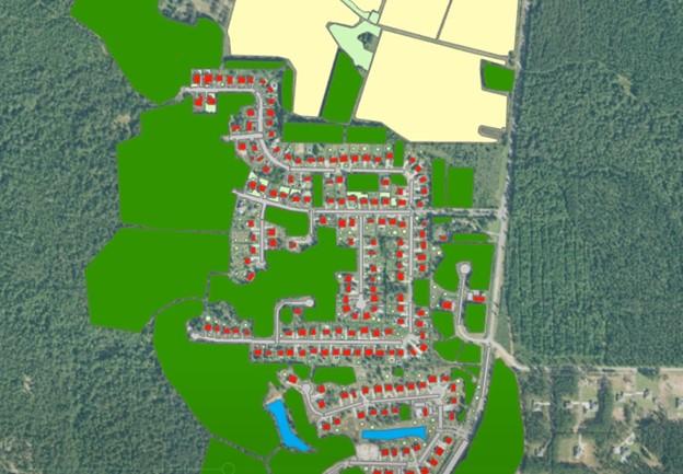 Daha az eğitim örneği belirlenerek etiketlenmiş veriler kullanılarak arazi örtüsü sınıflandırması